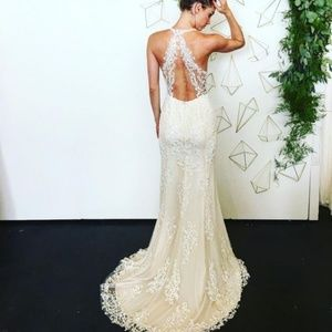 BHLDN Willowby Sookie Wedding Gown Size 8 NWT